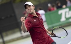 Tennis teams bring the heat in the first round of the conference championships