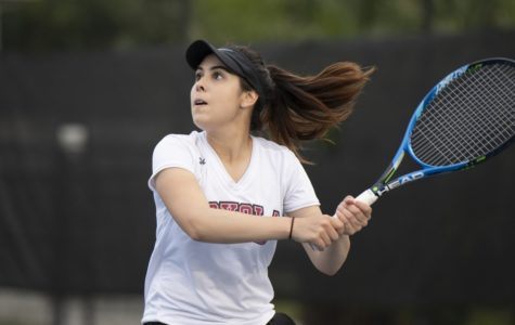Both tennis teams end their seasons in the conference semifinals