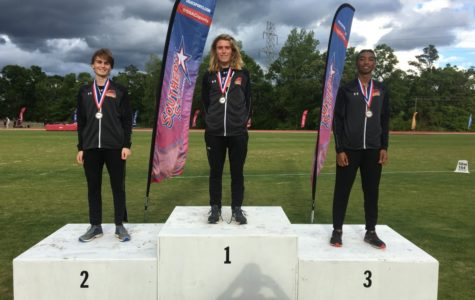 Four Wolf Pack athletes win gold at the conference track and field meet