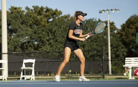 Tennis program racked up 14 conference awards