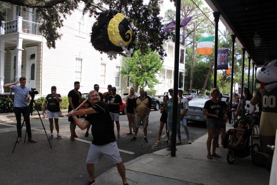 Saints fans make the best out of Revenge Bowl