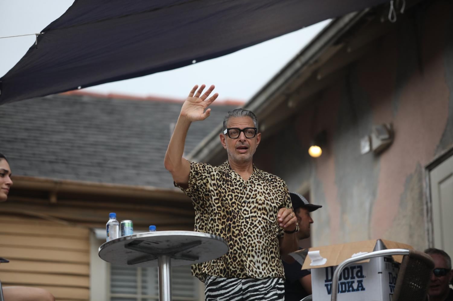 Actor+Jeff+Goldblum+waves+to+a+festival+go-er+after+the+Southern+Decadence+parade+on+September+1%2C+2019.+Photo+credit%3A+Andres+Fuentes