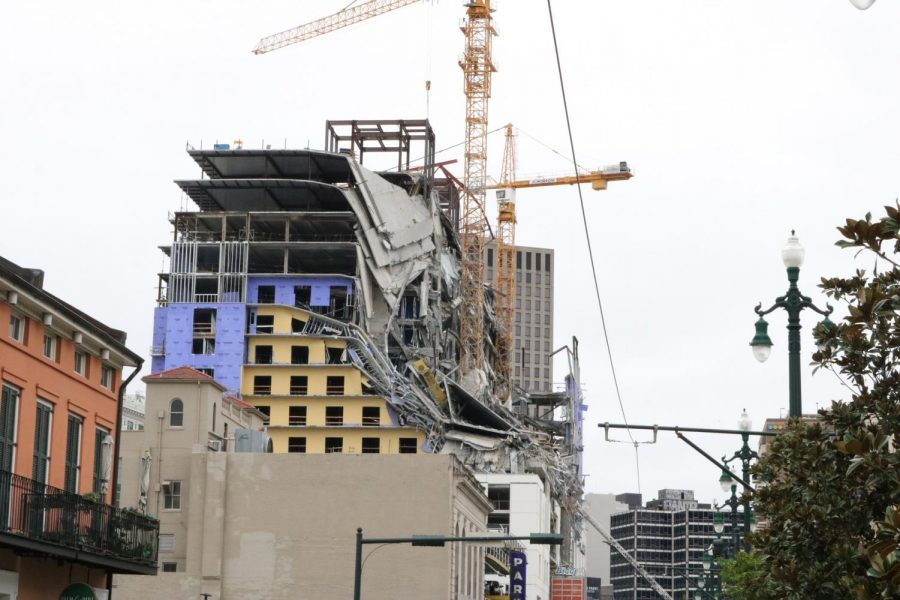 Two dead in Hard Rock Hotel collapse
