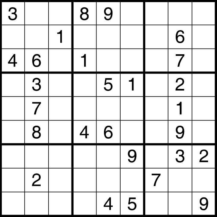 Free Printable Blank Sudoku Worksheets