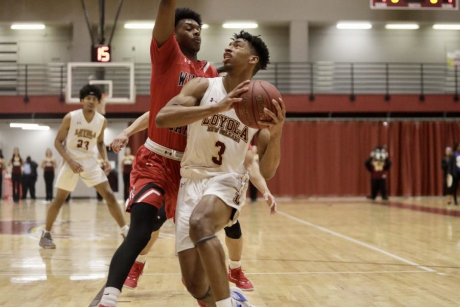 Men's basketball team wins after being down 15 points at ...